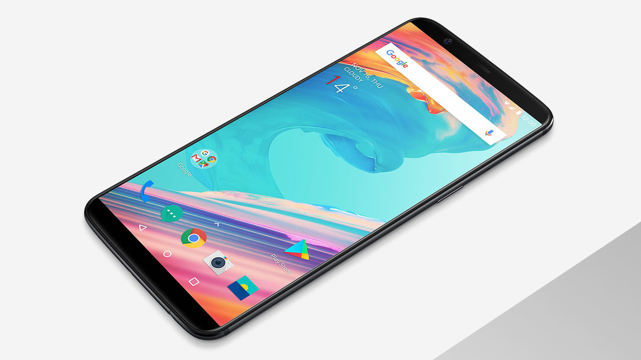OnePlus 5T: Android-Smartphone mit 18:9-Display kostet 500 Euro