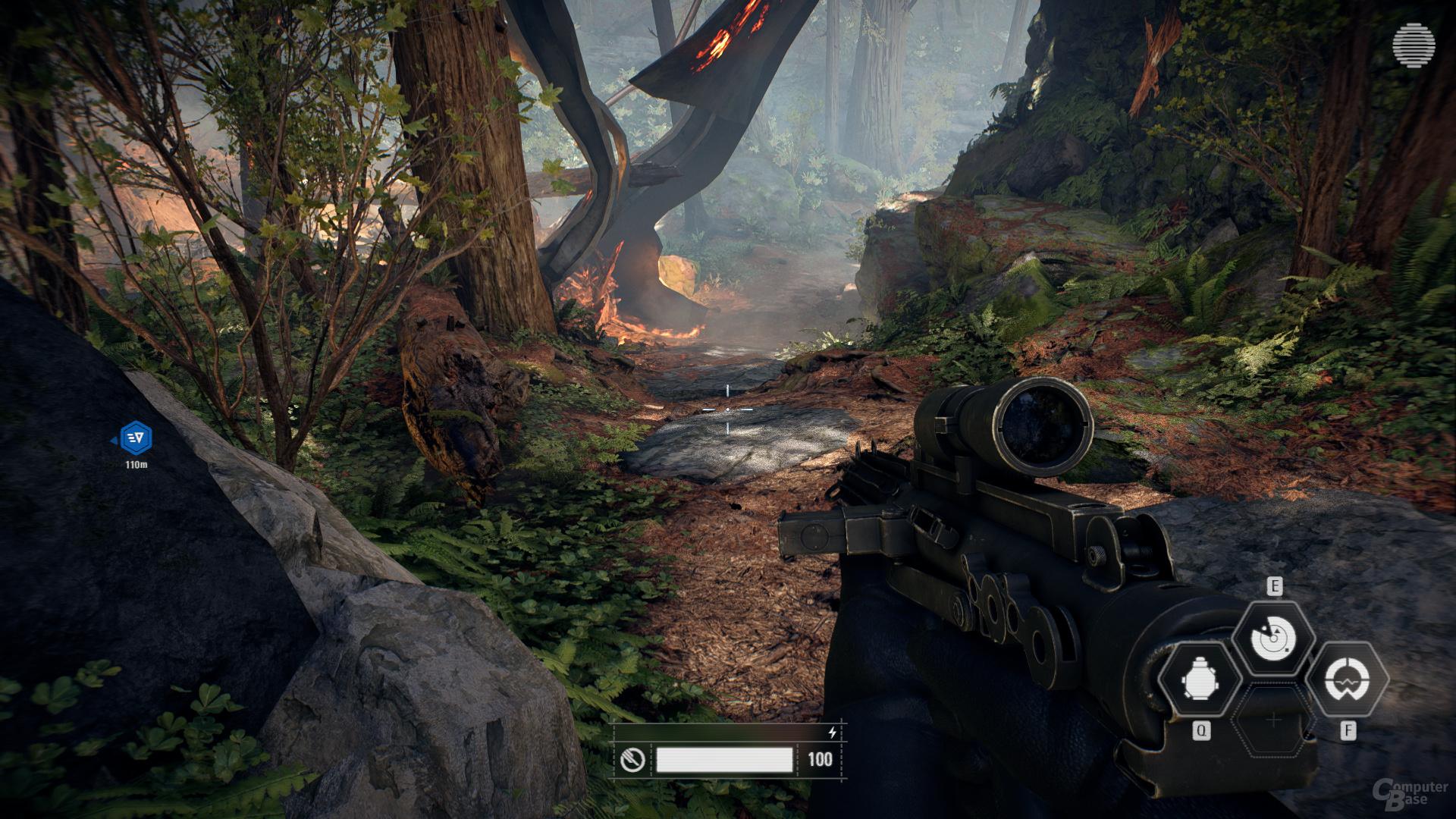 Star Wars Battlefront 2 – HFTS-Schatten