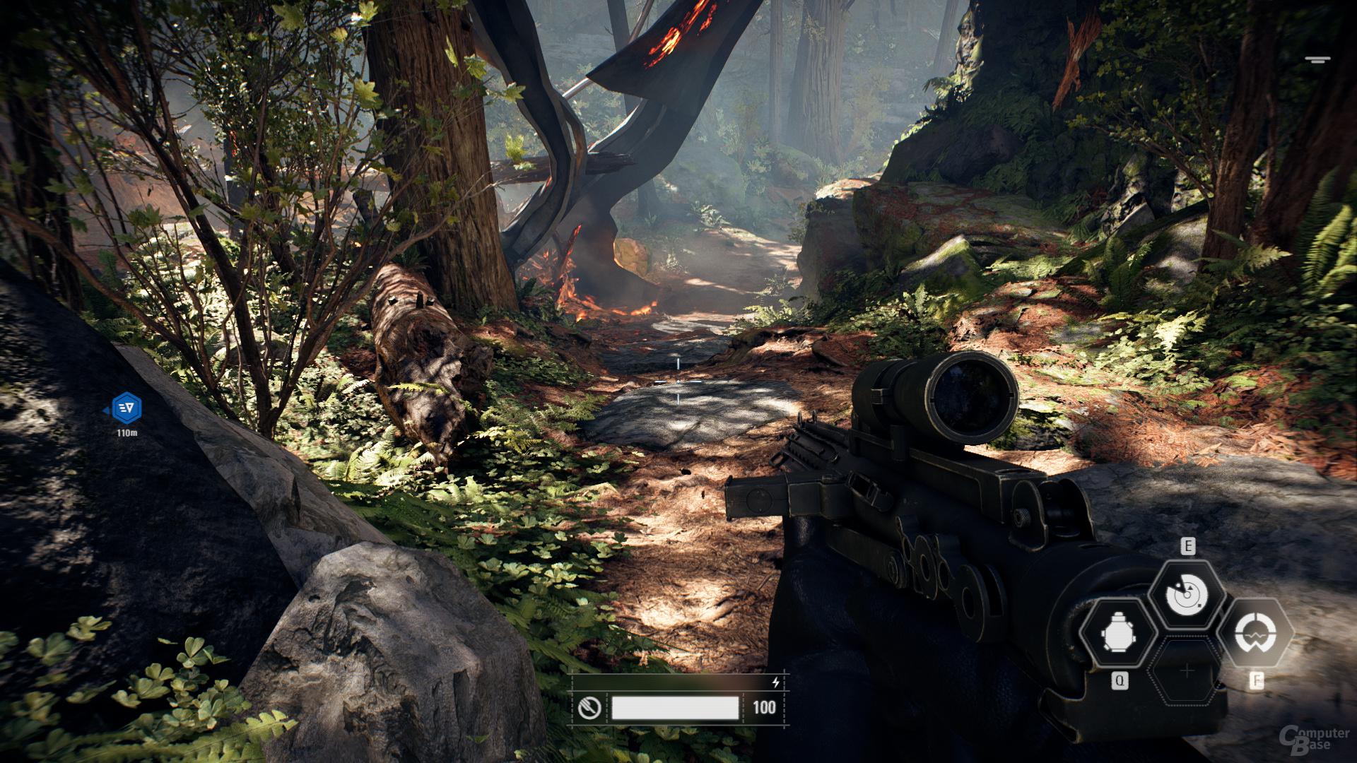 Star Wars Battlefront 2 – PCSS-Schatten