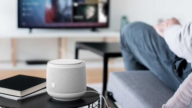telekom smart speaker smart lautsprecher mit servern in. Black Bedroom Furniture Sets. Home Design Ideas