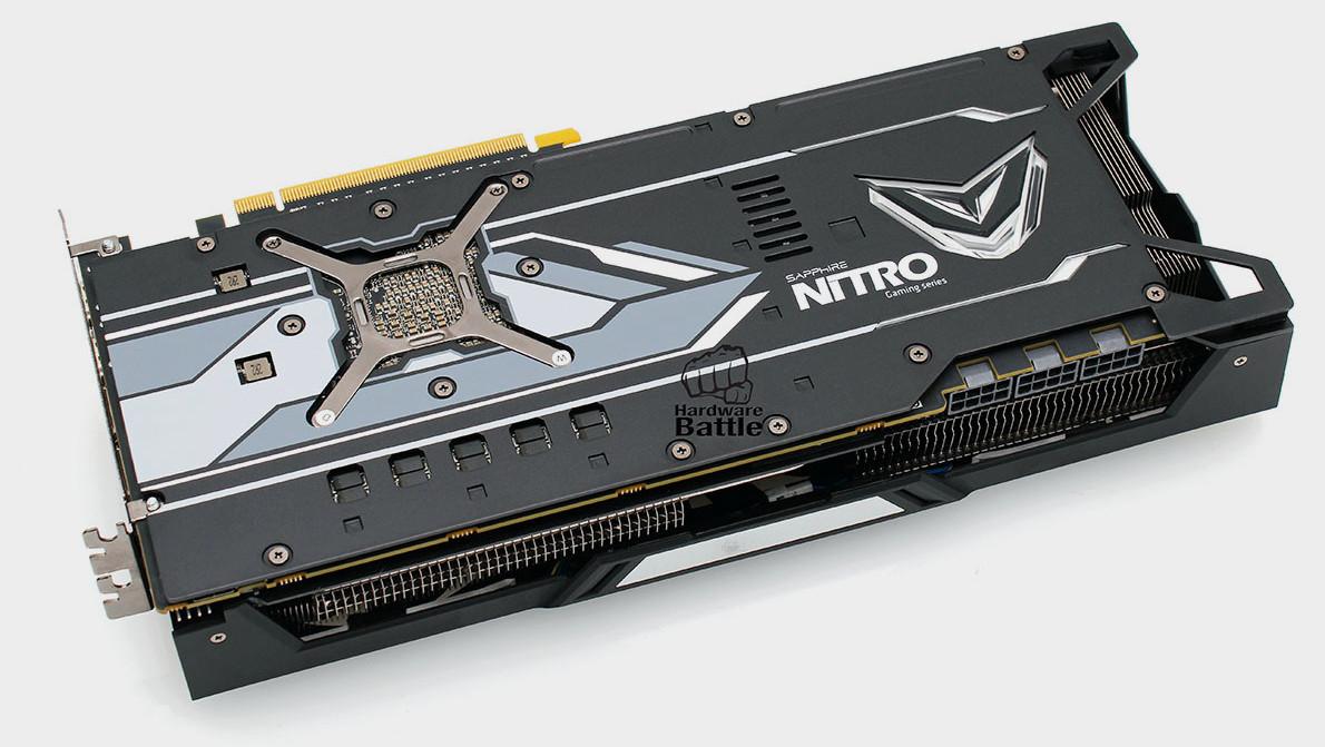 Radeon RX Vega 64 Nitro: Sapphires Custom Design hat drei Mal 8‑Pin-PCIe