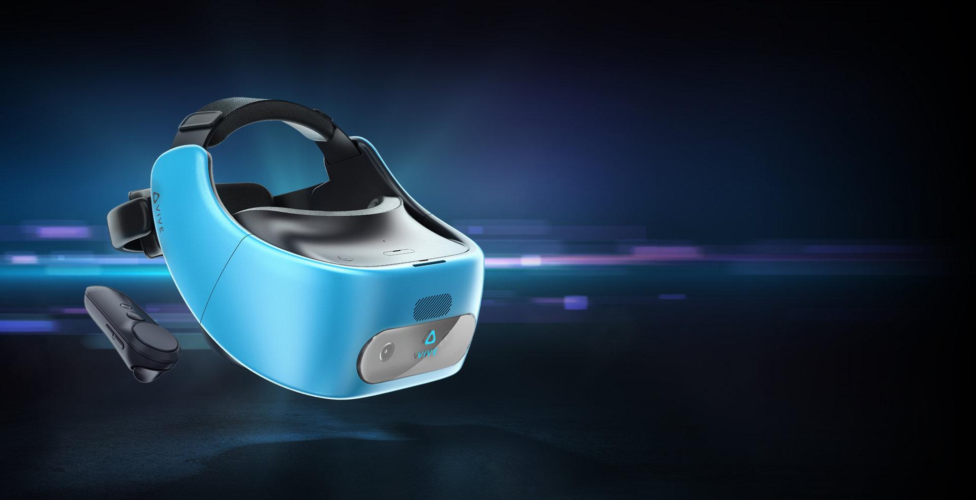 Die HTC Vive Focus mit 6DoF gibt es bisher nur in China