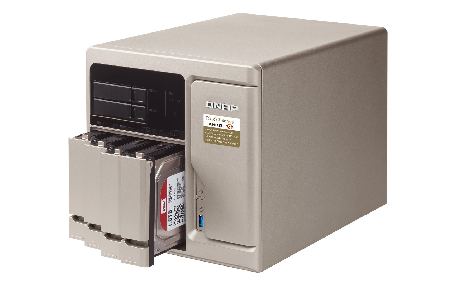 QNAP TS-677 mit Ryzen 5 1600