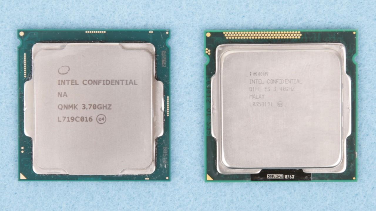 CPU-Aufrüsten: Sandy Bridge bis Coffee Lake mit Overclocking im Vergleich