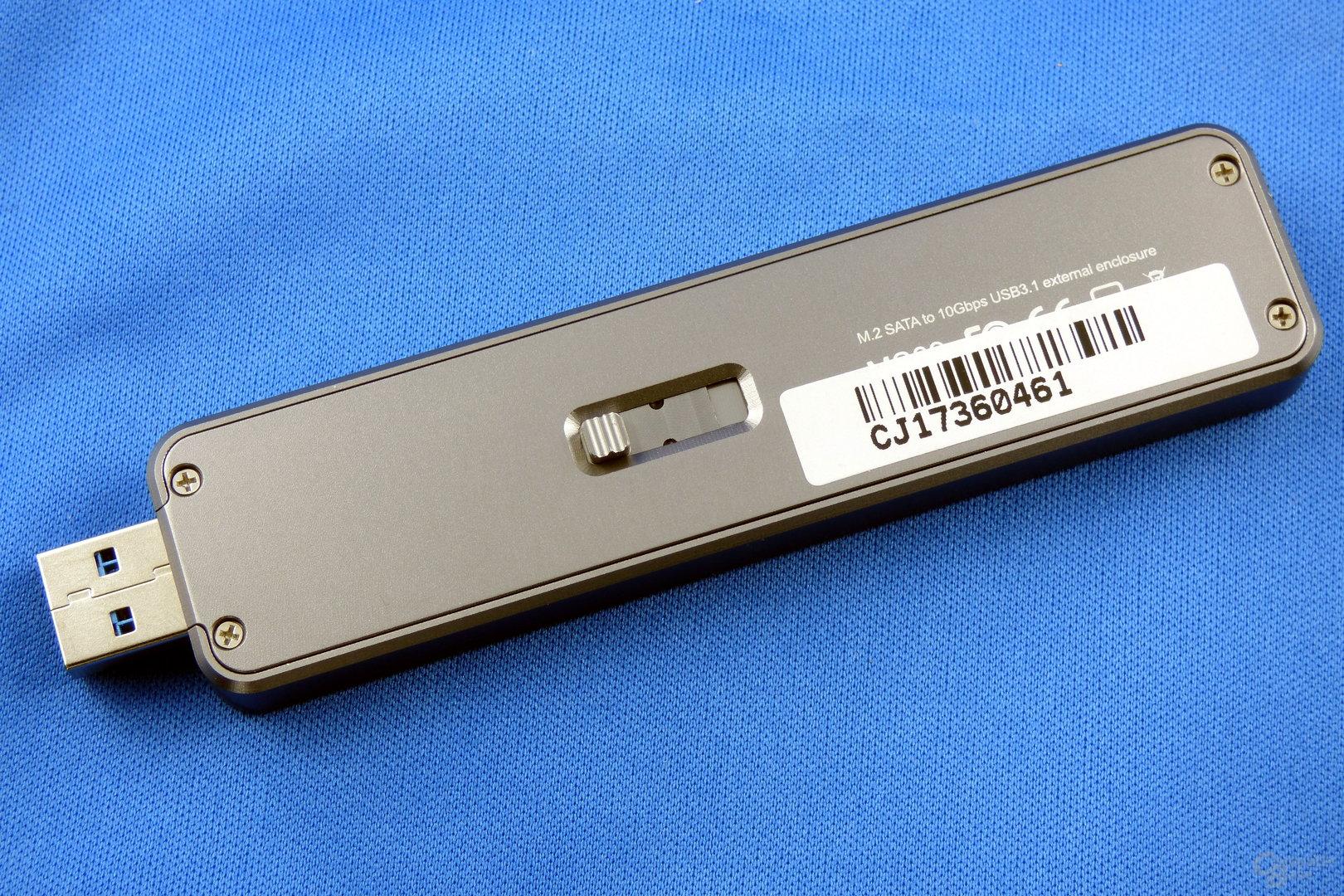 SilverStone MS09: Die externe SSD ist bereit
