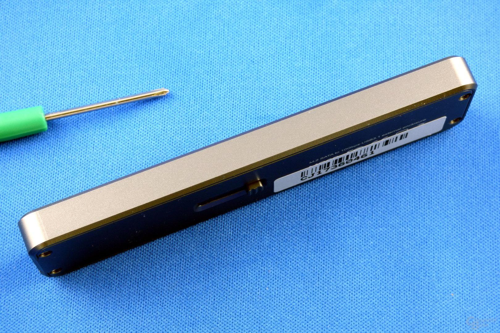 SilverStone MS09: Flache Bauweise mit 9 mm Höhe