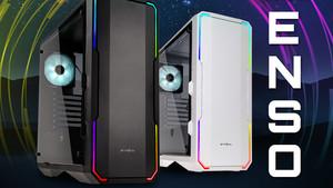 BitFenix Enso: Glas und RGB in Schwarz und Weiß