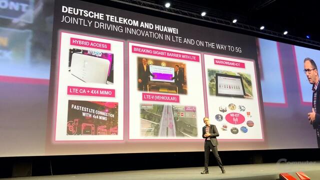 Gemeinsame Projekte von Deutscher Telekom und Huawei