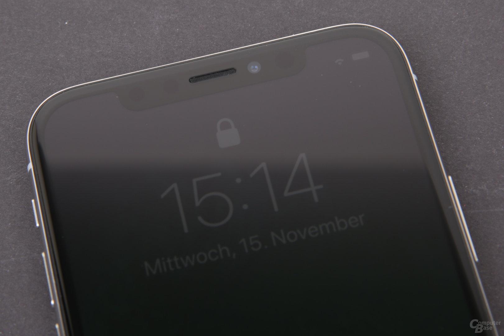 """Apple iPhone X – Die """"Notch"""" mit Sensoren"""
