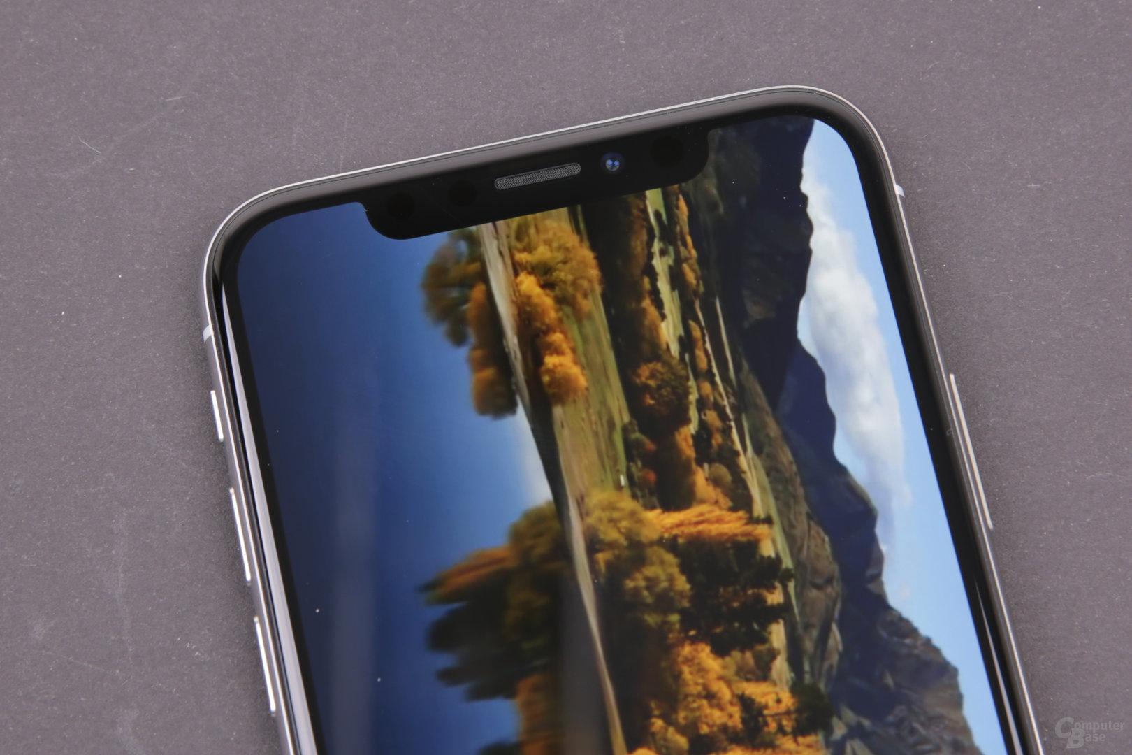 Apple iPhone X – YouTube-Video mit Zoom