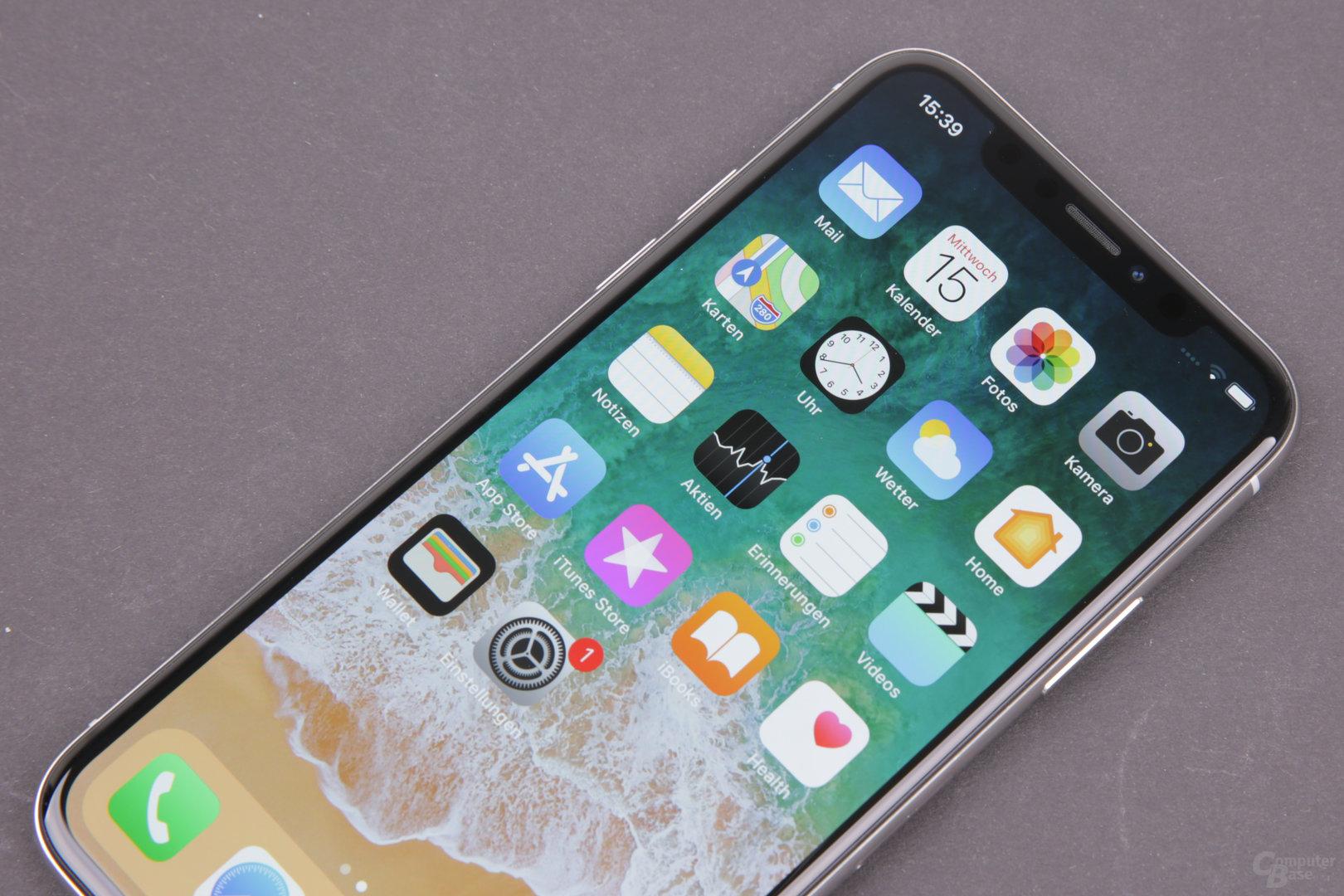 Apple iPhone X – Sehr gutes OLED-Display von Samsung