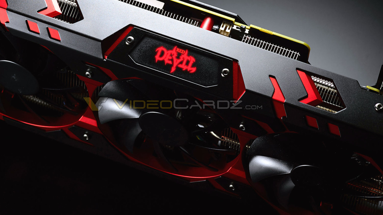 PowerColor: Erste Bilder der Radeon RX Vega 64 Red Devil