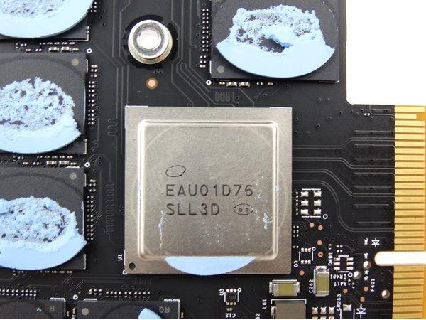 Der Controller der Optane SSD 900P