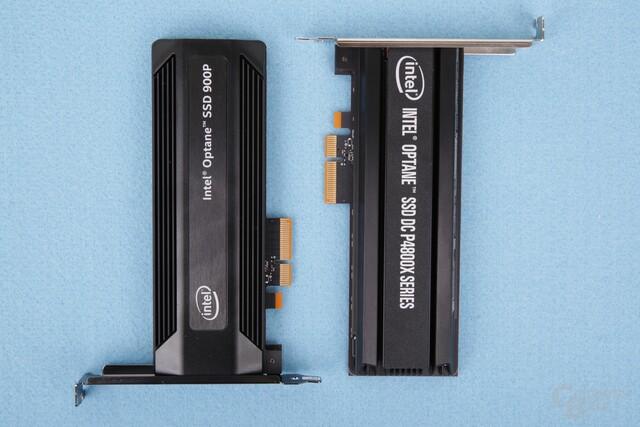 Intel SSD 900P und P4800X im Vergleich