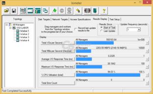 550.000 IOPS erreicht die Optane 900P bei 4K Random Write