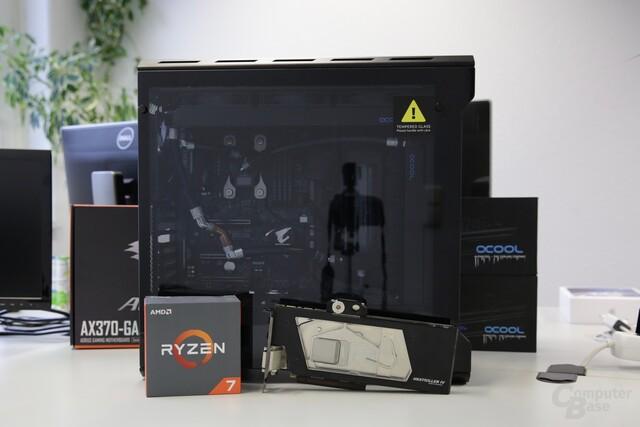 Das Ziel: Ein High-End-Gaming-PC mit Custom-Wasserkühlung