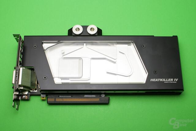 GTX 1080 Ti mit Heatkiller IV-Wasserkühler