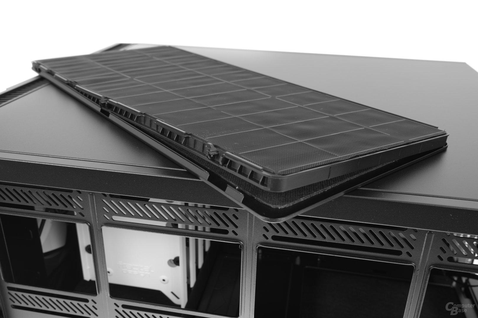 Fractal Design Define R6 – In der Topabdeckung verbirgt sich eine weitere Abdeckung