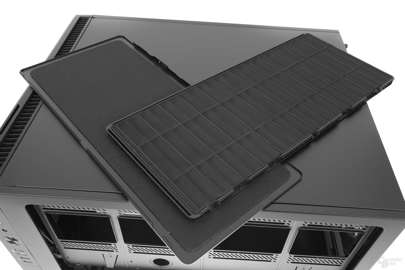 Fractal Design Define R6 – Beide Abdeckungen nebeneinander