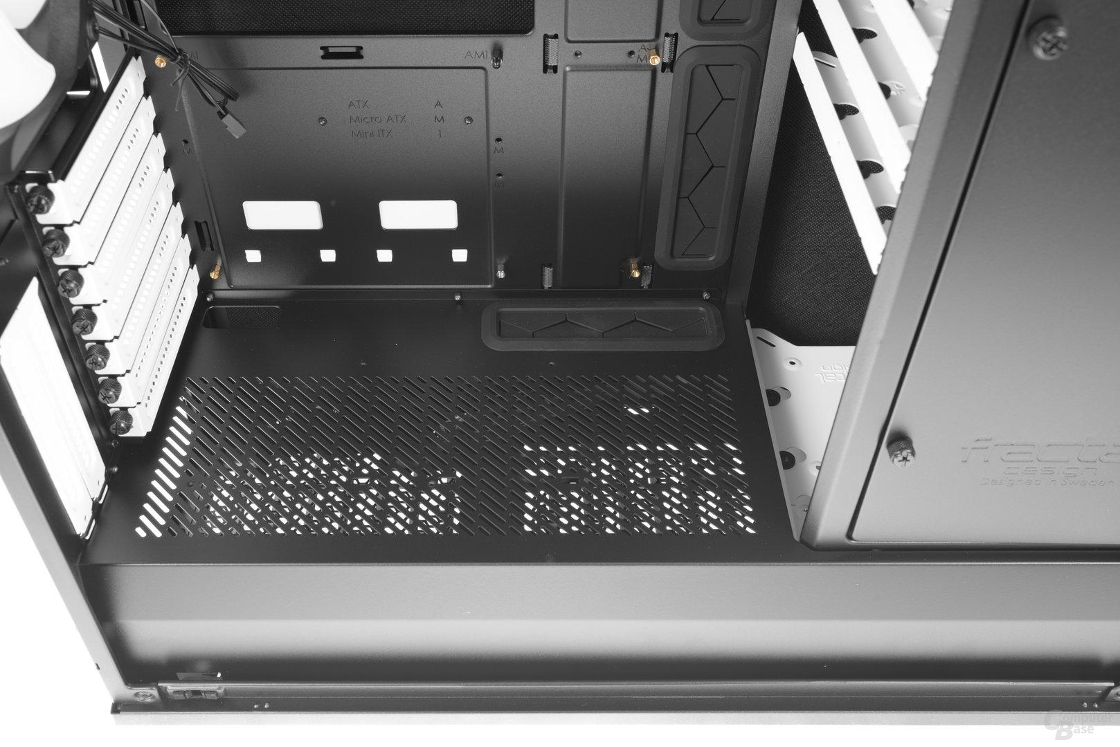 Fractal Design Define R6 – Der doppelte Boden im Detail