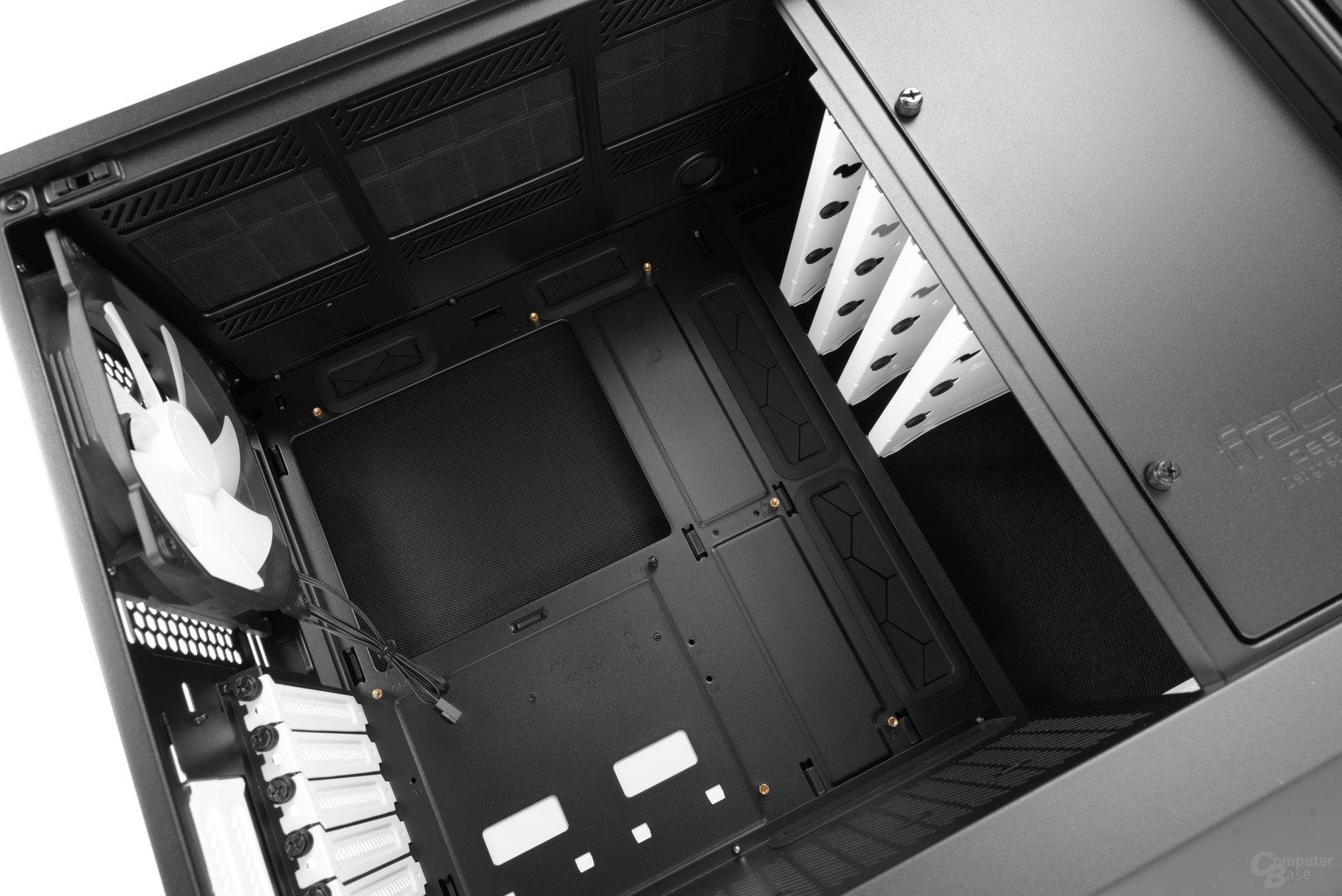 Fractal Design Define R6 – Innenraum im Detail