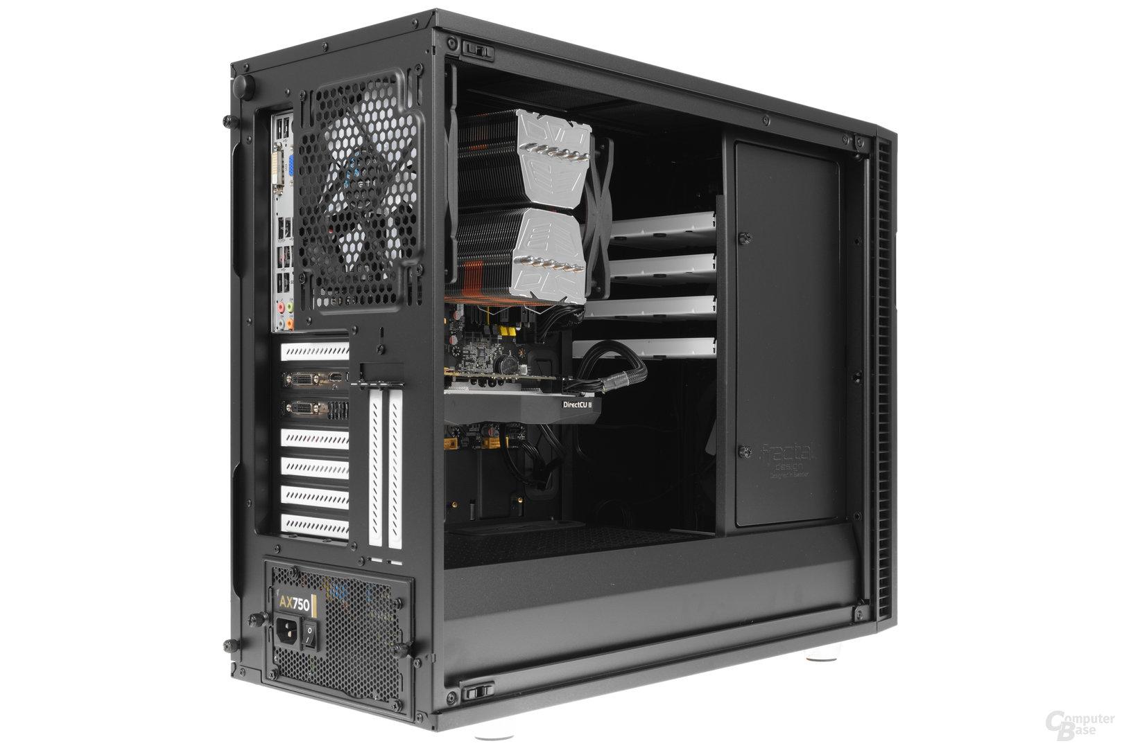 Fractal Design Define R6 – Testsystem