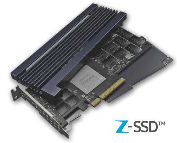Samsung Z-SSD SZ985 mit Z-NAND