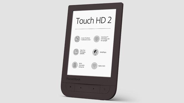 PocketBook Touch HD 2: Premium-Reader nun auch mit Blaulichtfilter