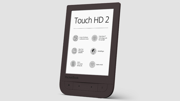 PocketBook Touch HD 2: Premium-Reader nun auch mit Blaulichtfilter