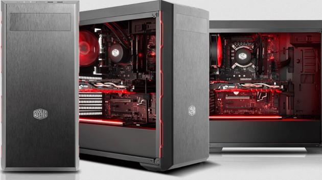 MasterBox MB600L & Pro 5 RGB: Zwei Gehäuse mit Sichtfenster für buntes Licht