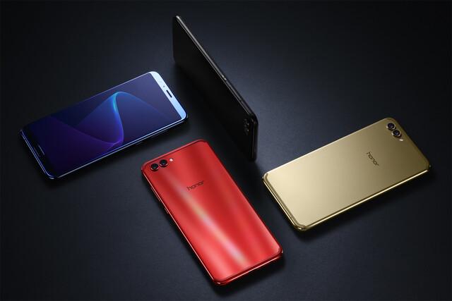 Die vier Farben des Honor V10