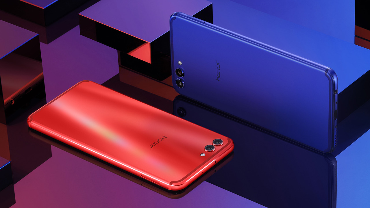 Honor View 10: Neues Smartphone-Topmodell bedient sich beim Mate 10 Pro