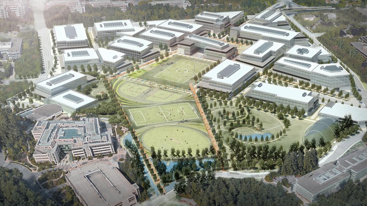 Redmond: Microsoft baut Campus für 8.000 zusätzliche Jobs um