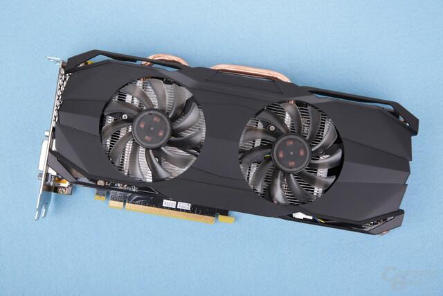 GeForce GTX 1070 von ECS mit 2-Lüfter-2-Slot-Kühler