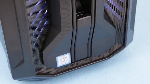 Medion Erazer X67020/X67015 im Test: Aldi-Gaming-PC mit Core i7-8700 und GeForce GTX 1070