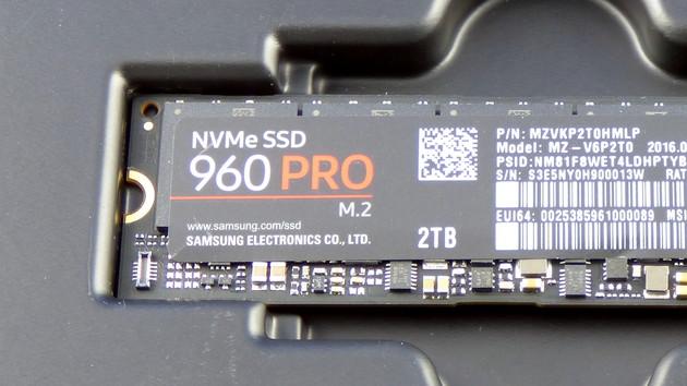 Samsung 960 Pro: Systemhänger mit neuer Firmware 3B6QCXP7