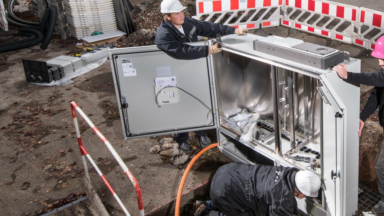 Deutsche Telekom: 1 Million FTTB/H-Anschlüsse zusammen mit EWE