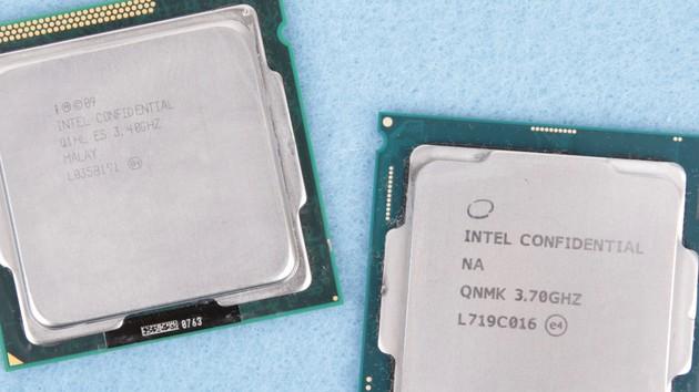 Wochenrückblick: Intel-CPUs von 2011 und 2017 im Generationenvergleich