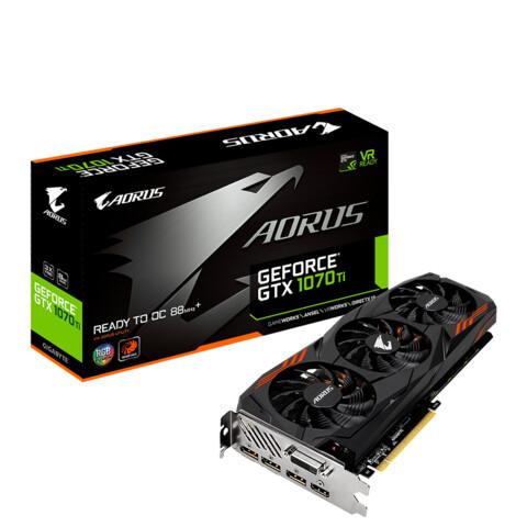 Gigabyte GeForce GTX 1070 Ti Aorus