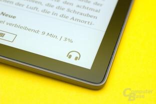 Wechsel von E- zu Audio-Book nicht immer zuverlässig
