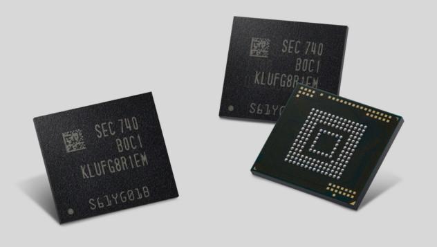 eUFS von Samsung: Speicher-Chips für 512 GB im Smartphone gehen in Serie