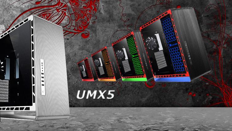 Jonsbo UMX5: Beleuchtung und Stahlrippen für die U-Form