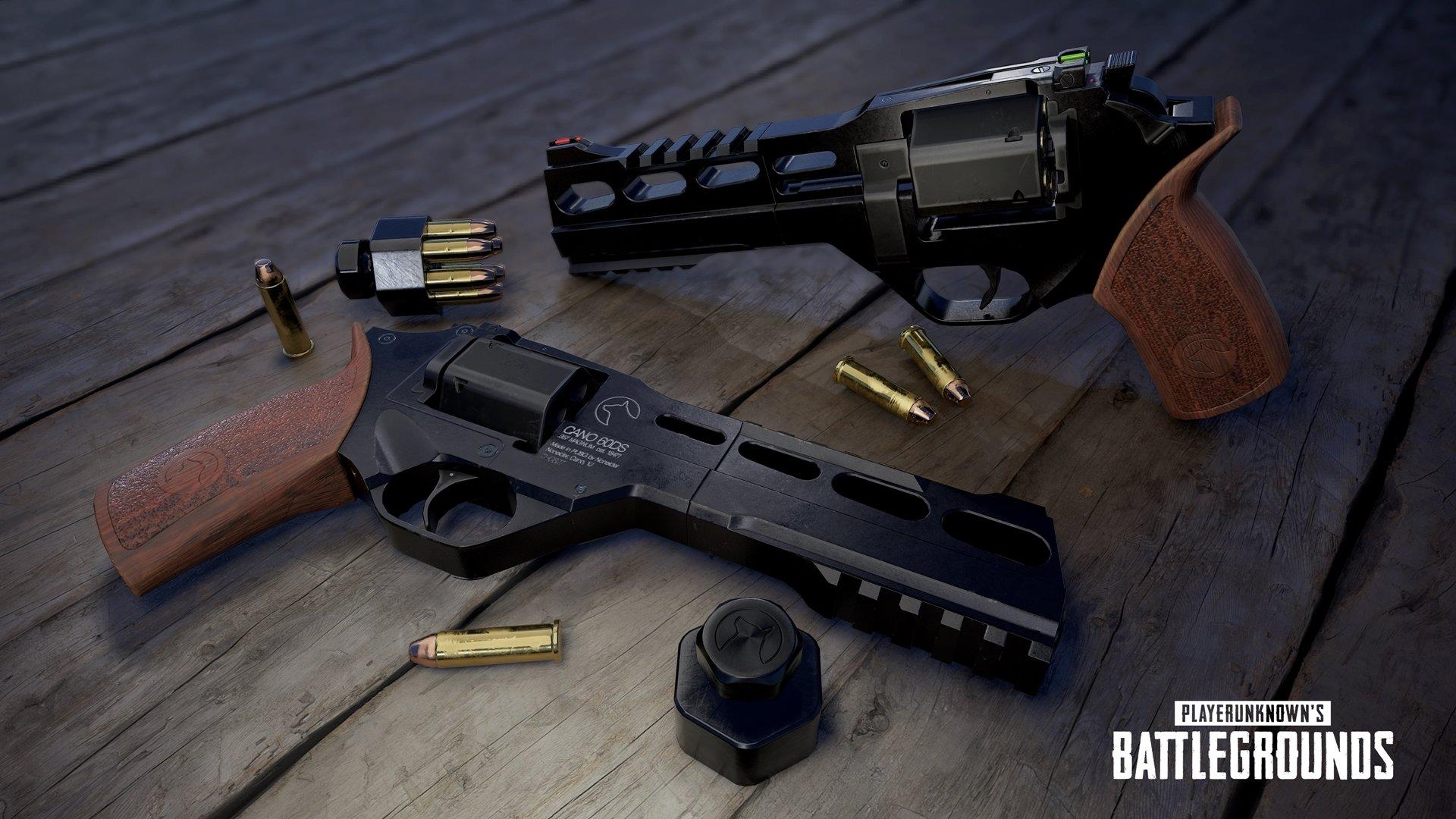 PUBG 1.0: Neue Waffe R45