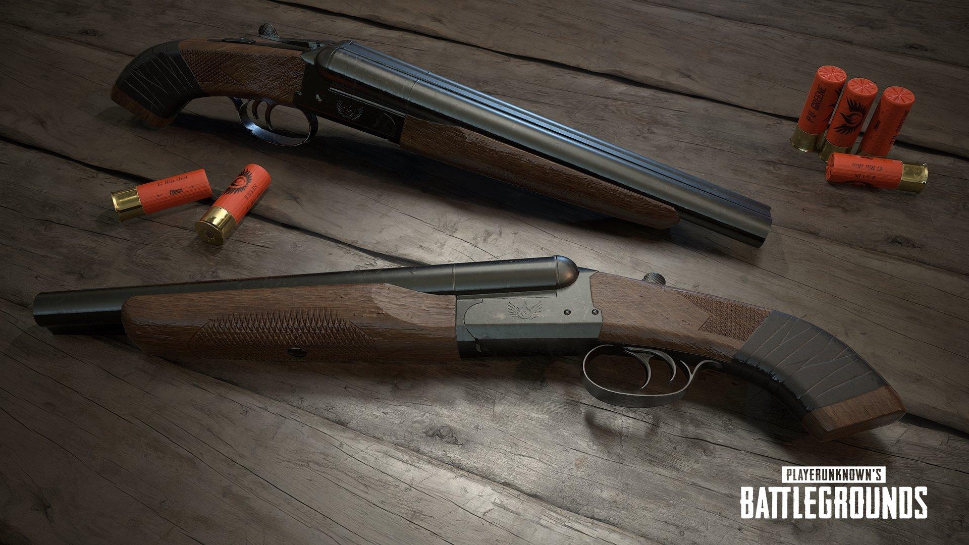 PUBG 1.0: Neue Waffe Sawed-Off