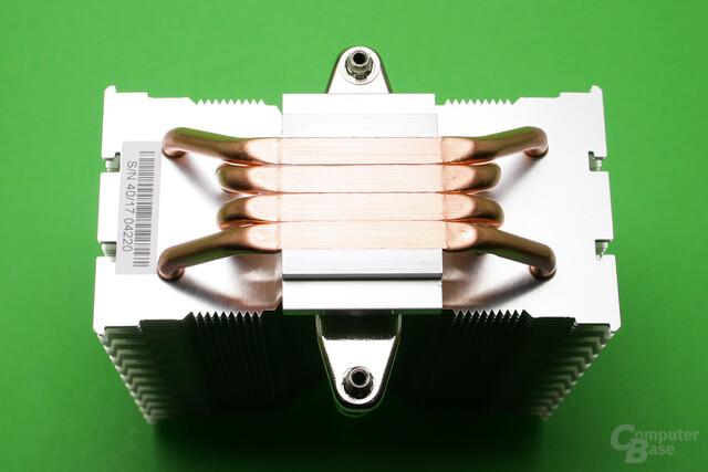 Der Brocken Eco basiert auf Heatpipe Direct Touch mit vier Wärmerohren