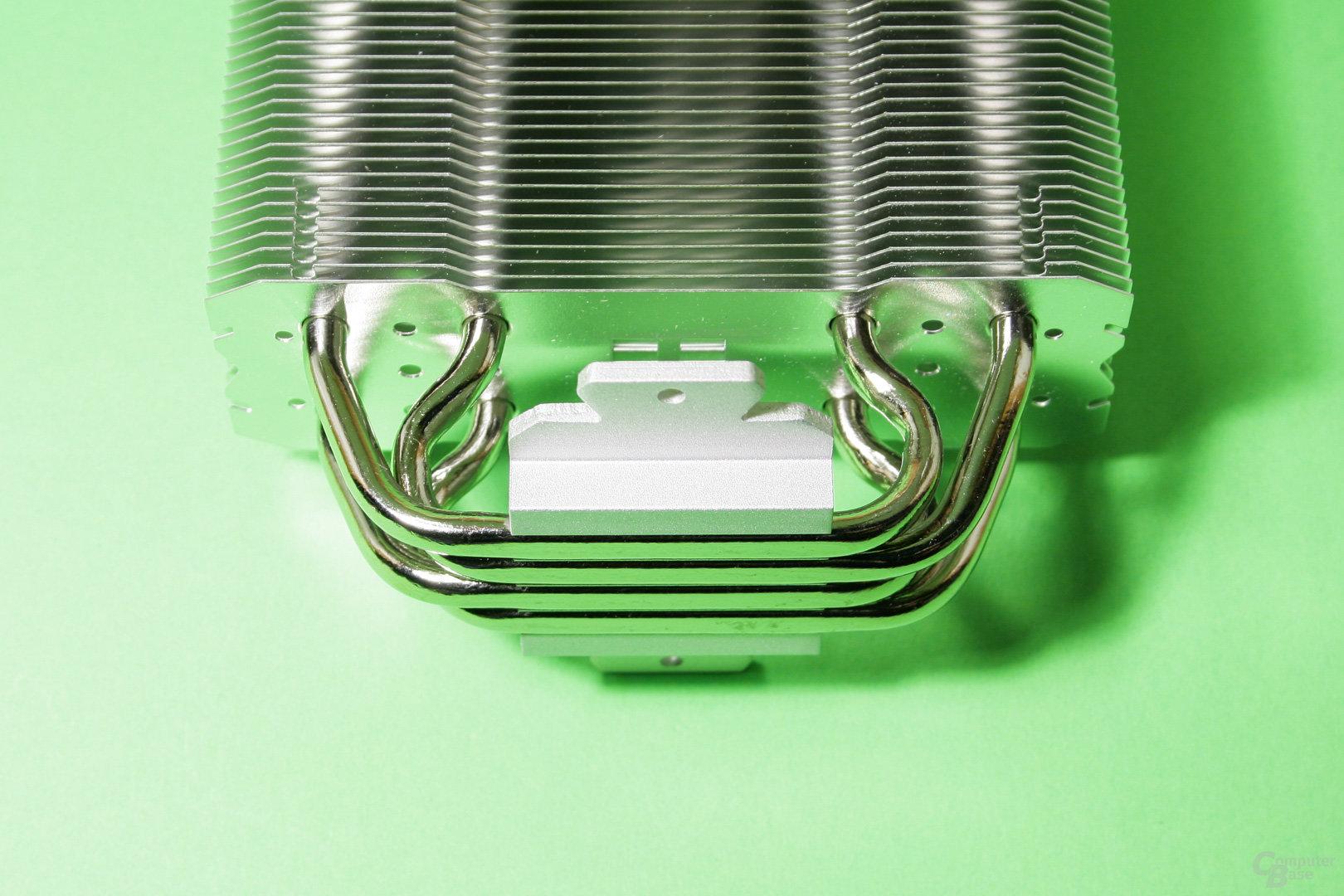 Thermalright verbindet den Kühler per Heatpipe Direct Touch mit dem Prozessor