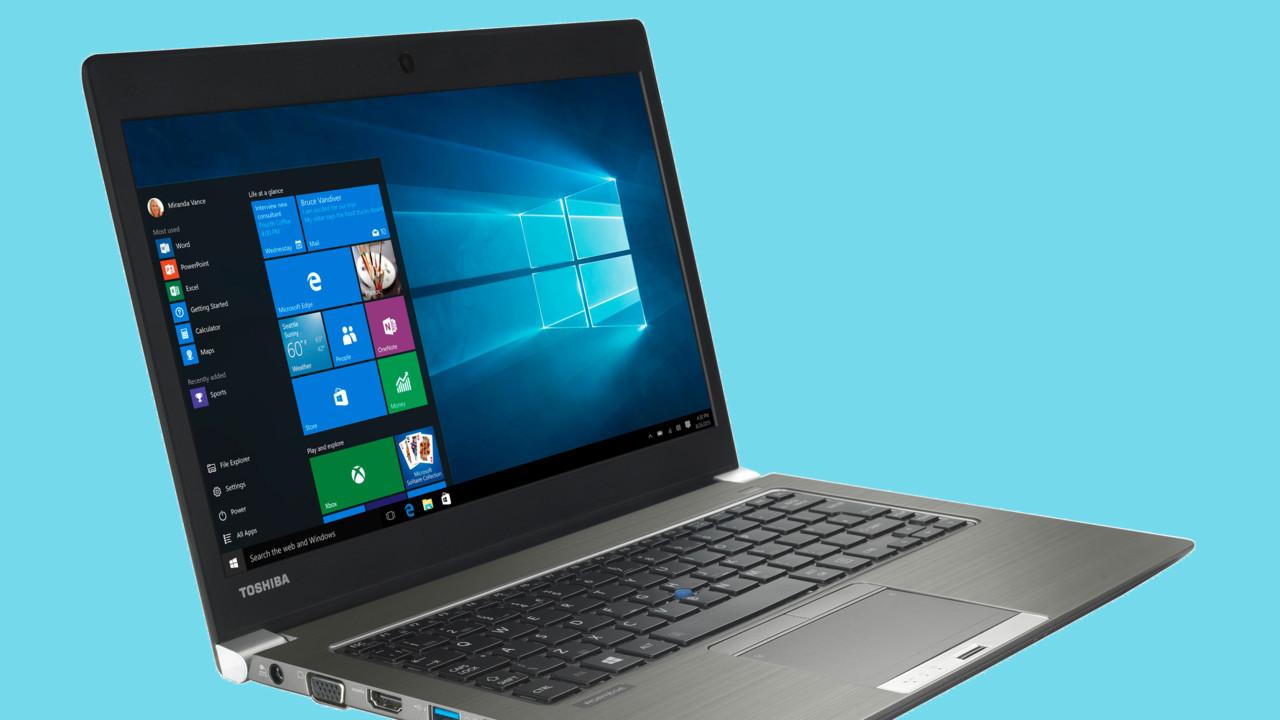 Windows-Downgrade: Notebooks von Toshiba bis Ende 2018 mit Windows 7 Pro