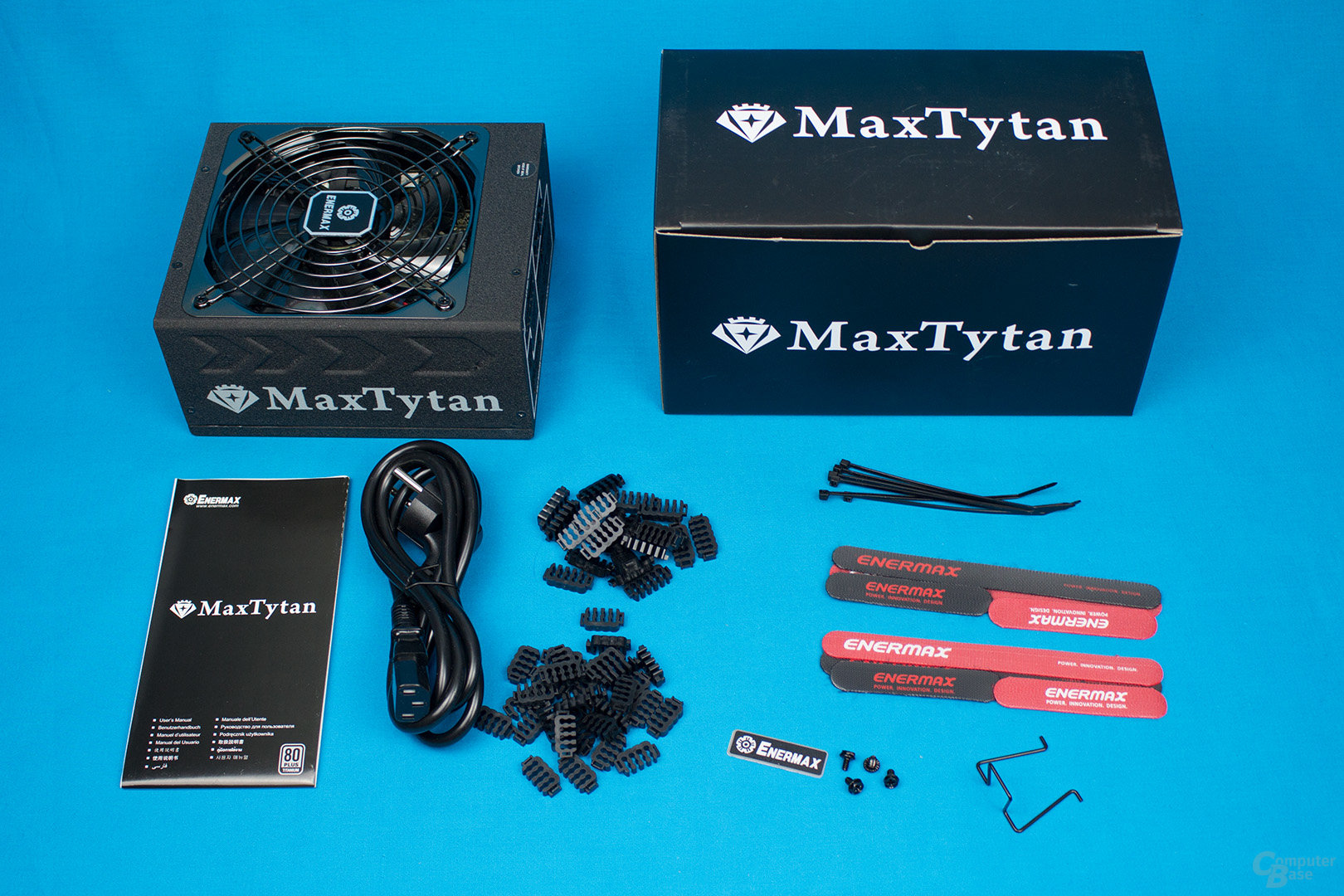 Enermax MaxTytan 800W – Lieferumfang