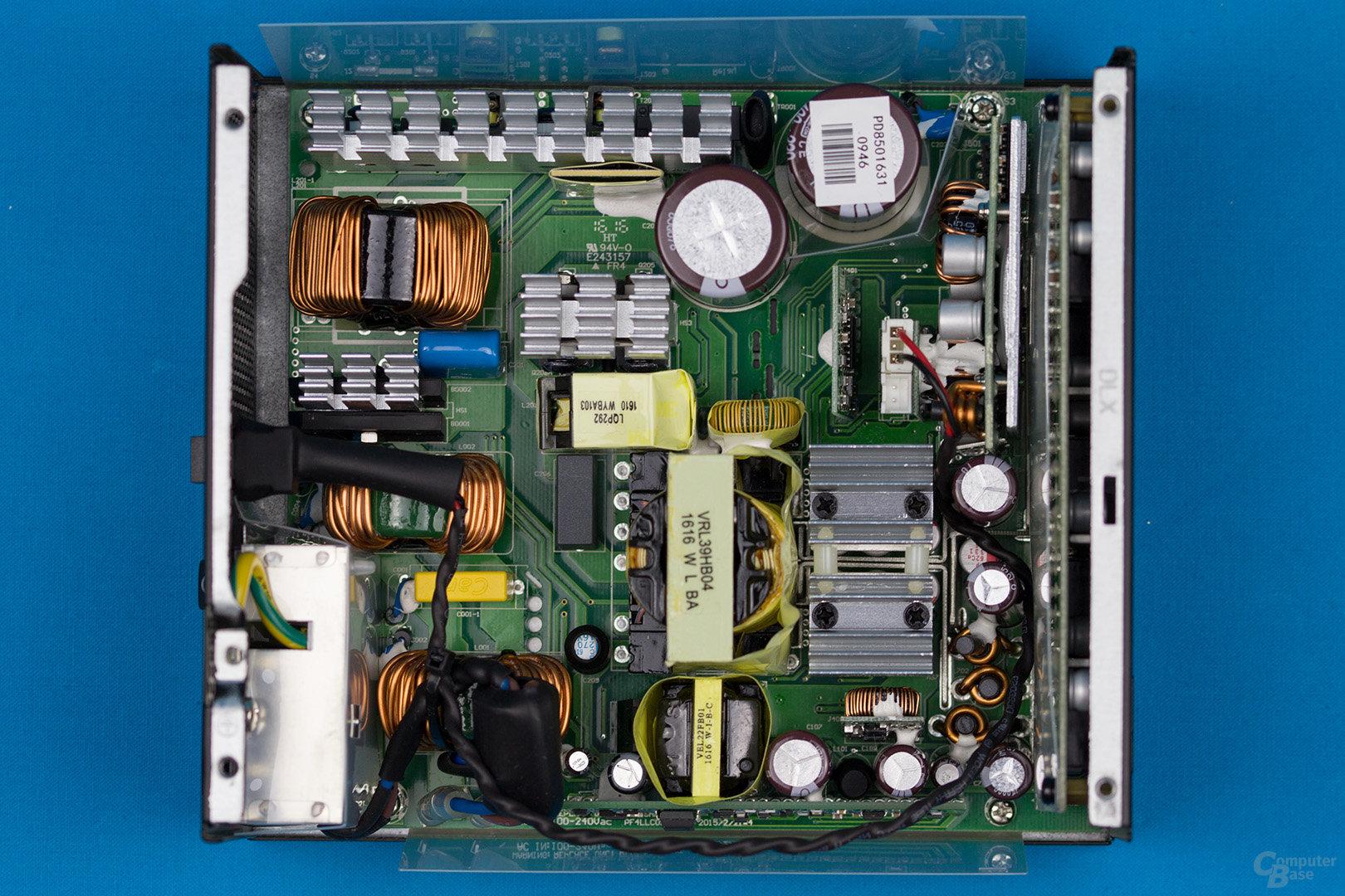 Sea Sonic Prime Platinum 850W – Überblick Elektronik