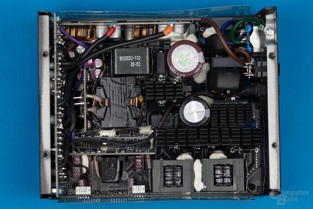 Enermax MaxTytan 800W – Überblick Elektronik